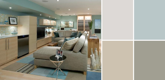 A Palette Guide To Basement Paint Colors Home Tree Atlas Simple Basement Design Painting