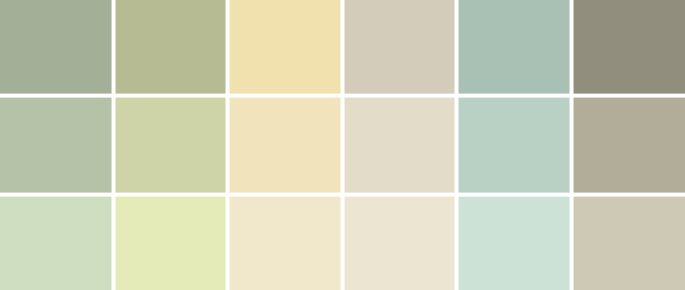 Neautral Colors a palette guide to basement paint colors | home tree atlas