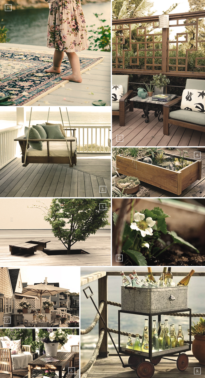 Deck Decorating Ideas Deck Decorating Ideas Mood