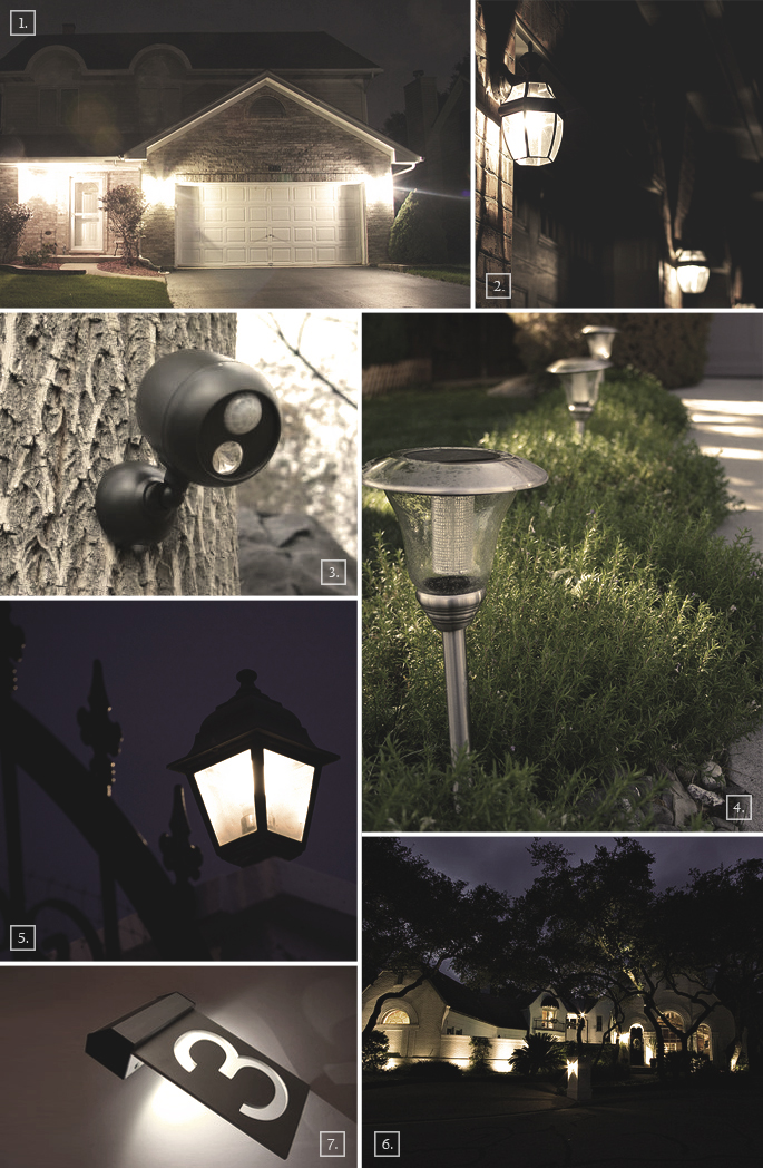 Home Outdoor Security Lighting Ideas