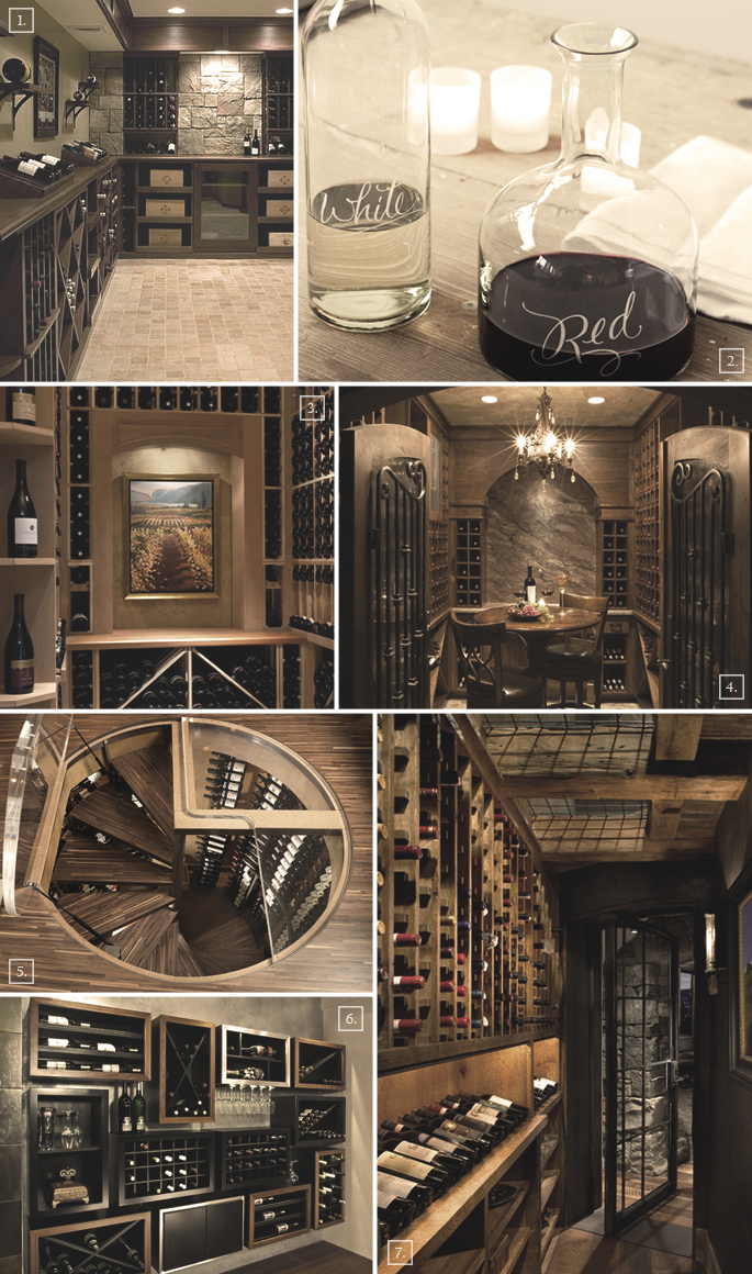 3 ideas for basement wine cellar designs