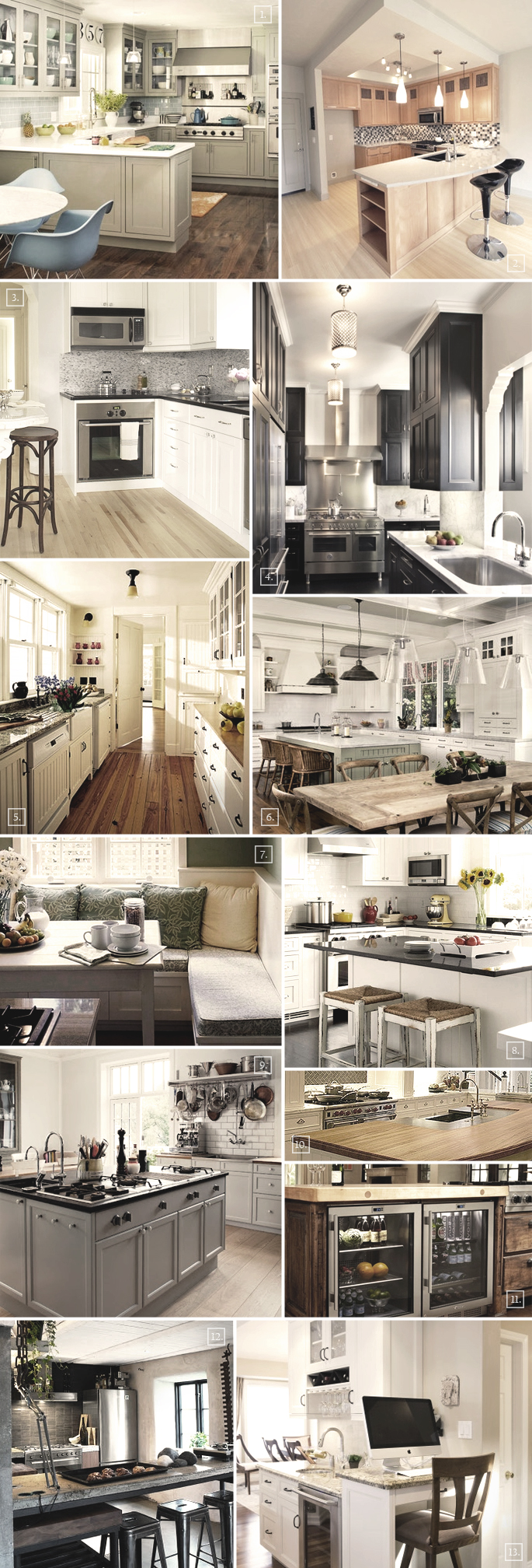 Kitchen Layout Ideas and Designs
