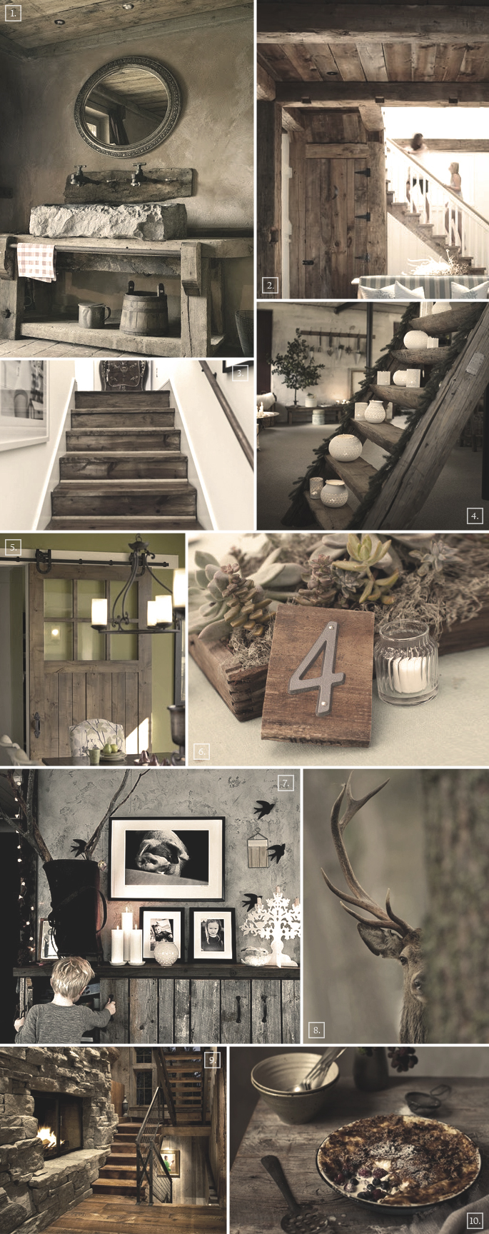 Rustic decor ideas for a basement home tree atlas for Rustic decor ideas