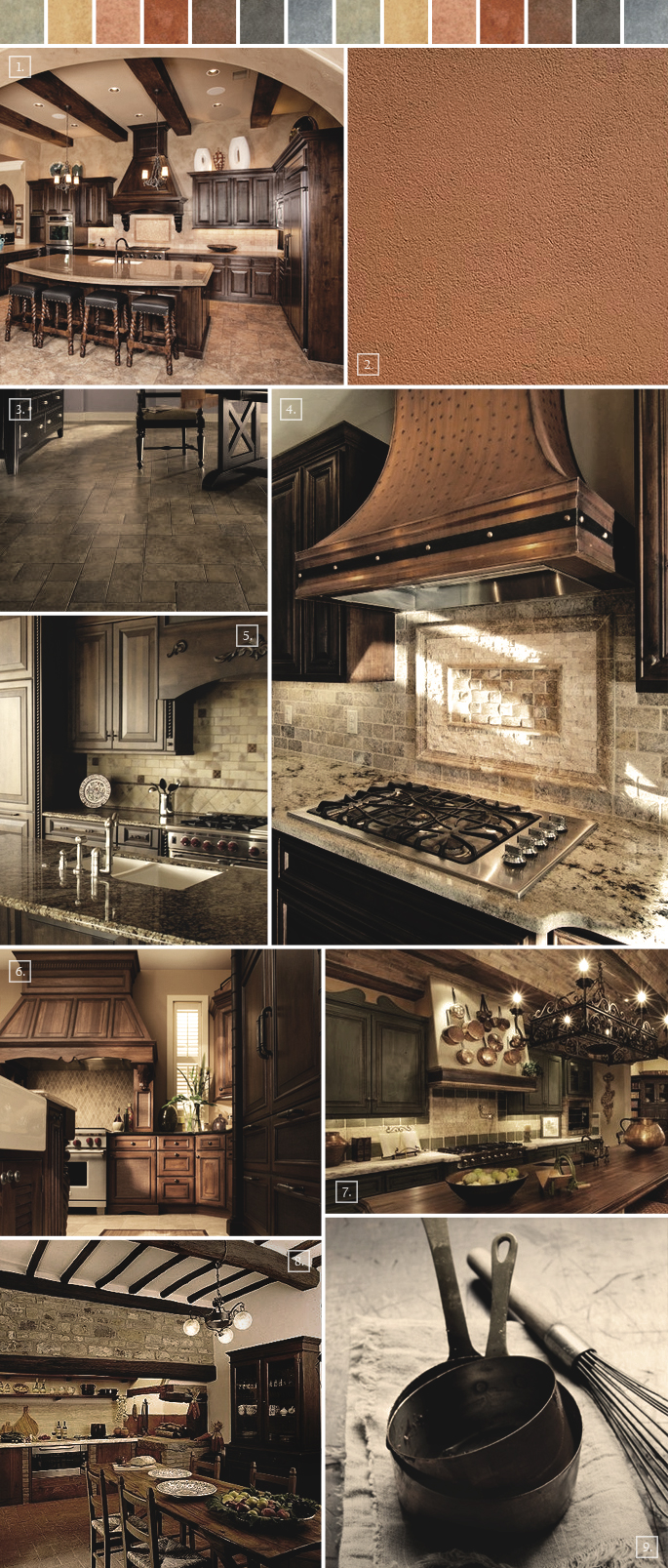 Tuscan kitchen decor ideas mood board home tree atlas for Kitchen accessories ideas
