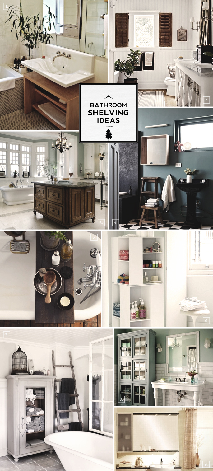 Design Guide Bathroom Shelving Ideas Mood Board Home Tree Atlas