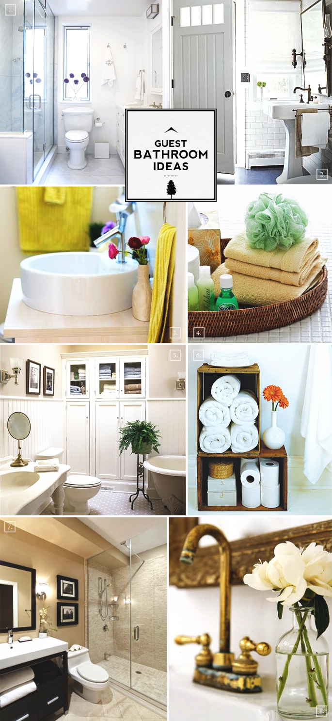 Guest Bathroom Ideas That Make Them Feel At Home | Home Tree Atlas