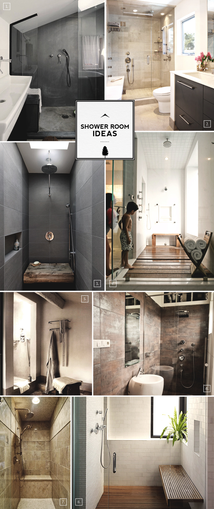 Design Notes for Shower Room Ideas Home Tree Atlas