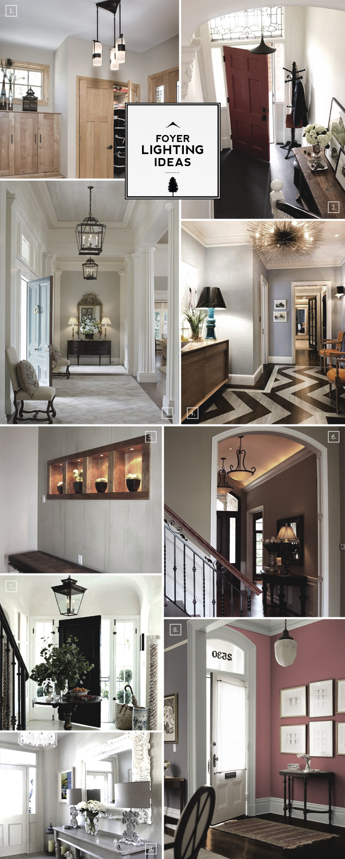 Entry Foyer Lighting Ideas: For Large and Small Spaces