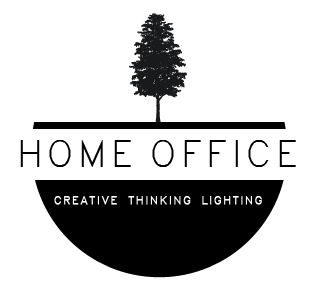 Home Office Creative Lighting