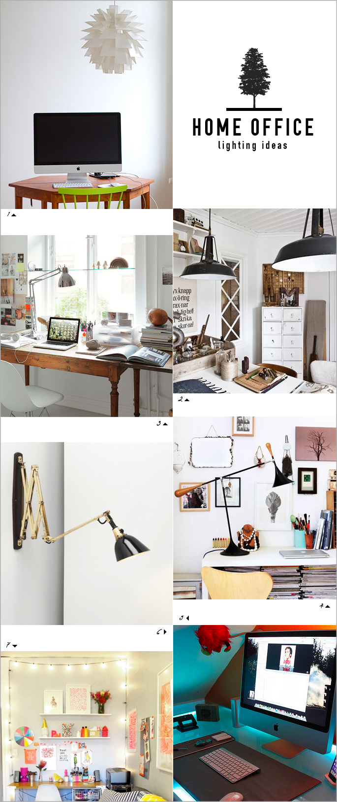home office lighting ideas: how to be productive and creative in
