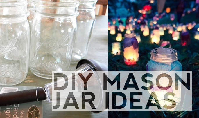 Getting crafty diy outdoor lighting ideas home tree atlas for Room decor ideas with mason jars