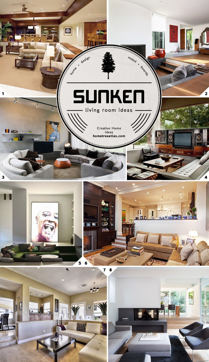 Sunken Living Room Ideas