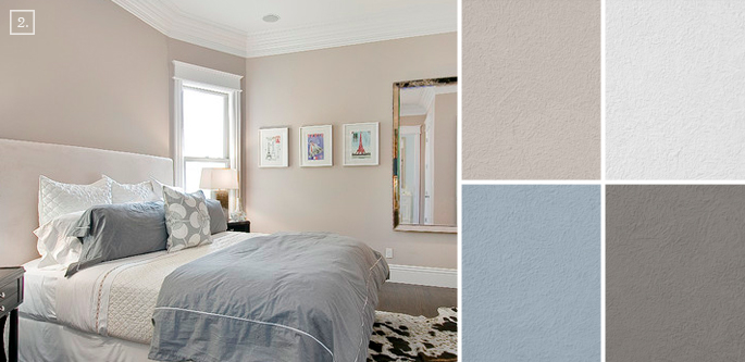 Bedroom color ideas paint schemes and palette mood board Best neutral bedroom colors