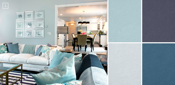 Ideas For Living Room Colors Paint Palettes And Color Schemes - Living room color schemes