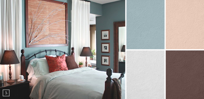 Bedroom Color Palette Ideas bedroom color ideas: paint schemes and palette mood board | home