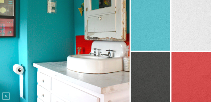 bathroom color ideas for painting. Bathroom Paint Ideas Color  Palette and Schemes Home Tree Atlas