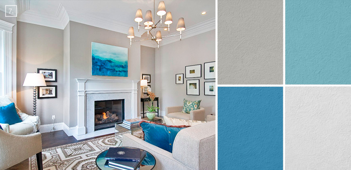 Room Colora ideas for living room colors: paint palettes and color schemes