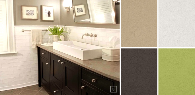 Bathroom Color Ideas Palette And Paint Schemes Home Tree Atlas - Pictures of bathroom paint colors