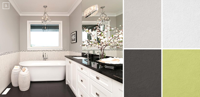 bathroom color ideas palette and paint schemes  home tree atlas,