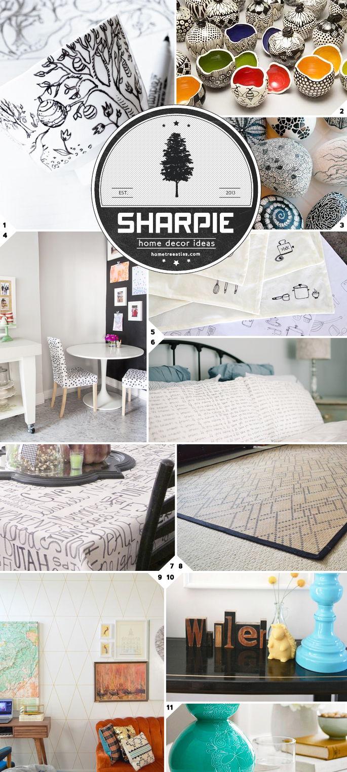 DIY Sharpie Art Ideas