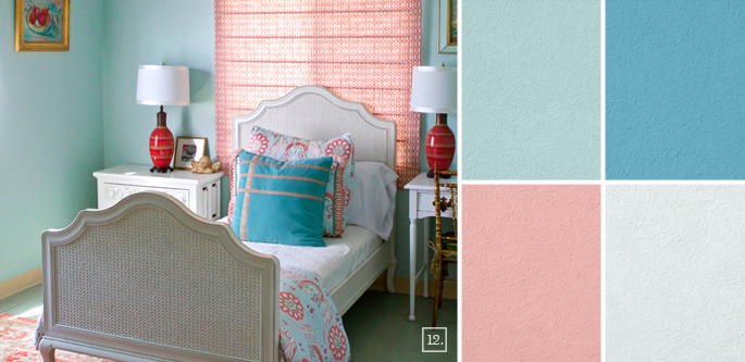 girls bedroom color ideas - Paint Colors And Moods