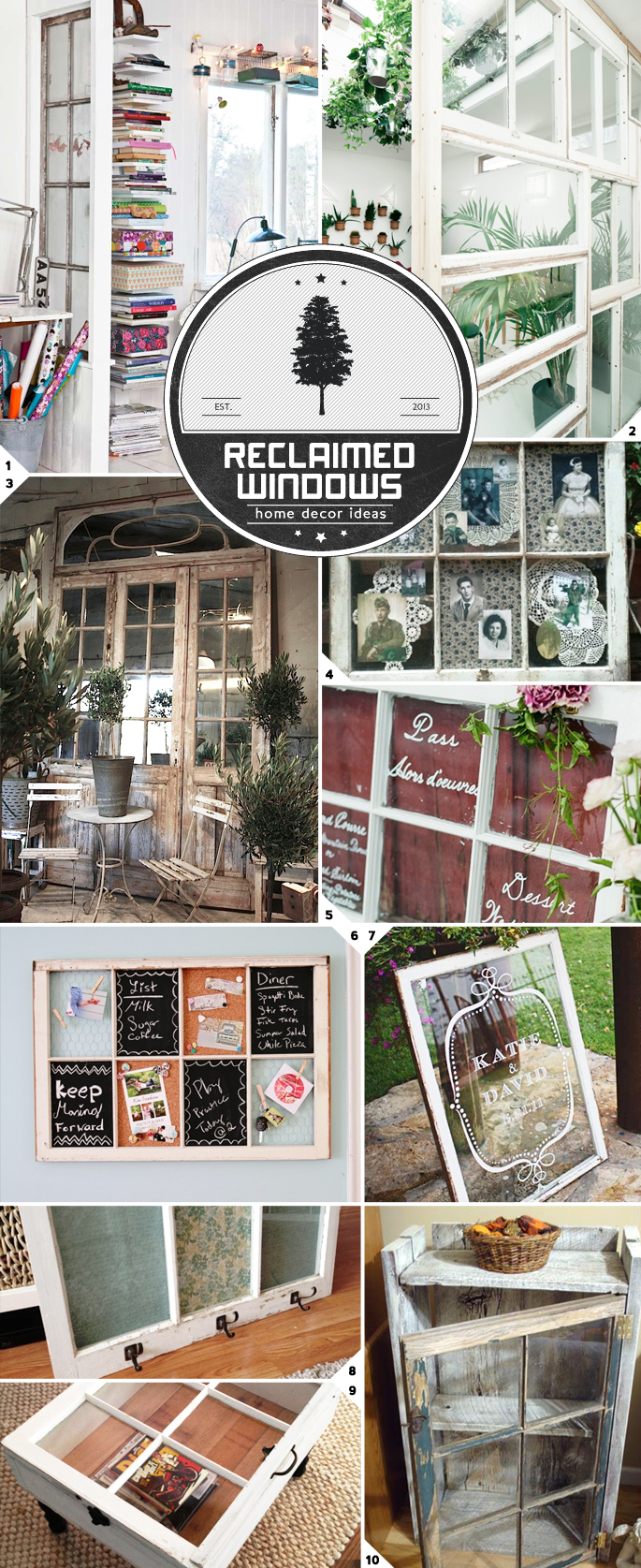 DIY Ideas For Old Windows