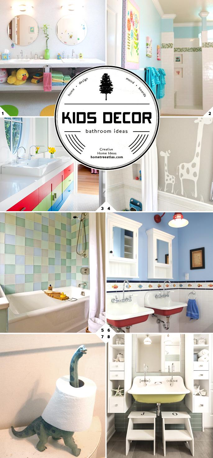 Kids Bathroom Decor and Design Ideas | Home Tree Atlas