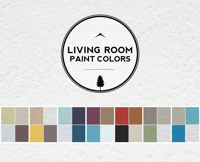 Ideas For Living Room Colors: Paint Palettes And Color Schemes Part 82