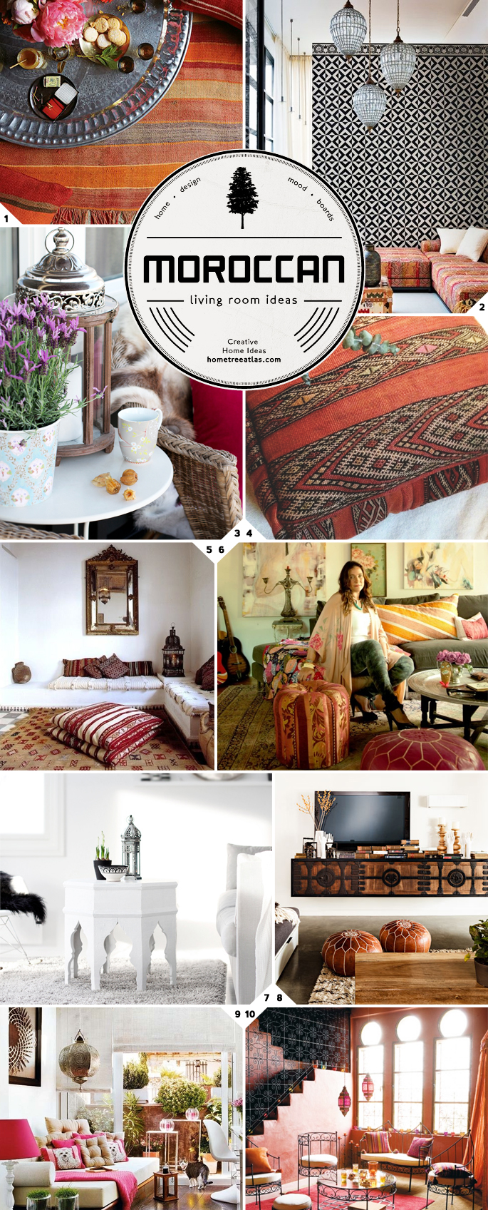Moroccan Living Room Ideas