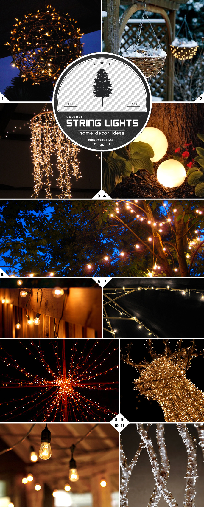 Home decor ideas creative ways of using string lights outdoors home decor ideas creative ways of using string lights outdoors workwithnaturefo