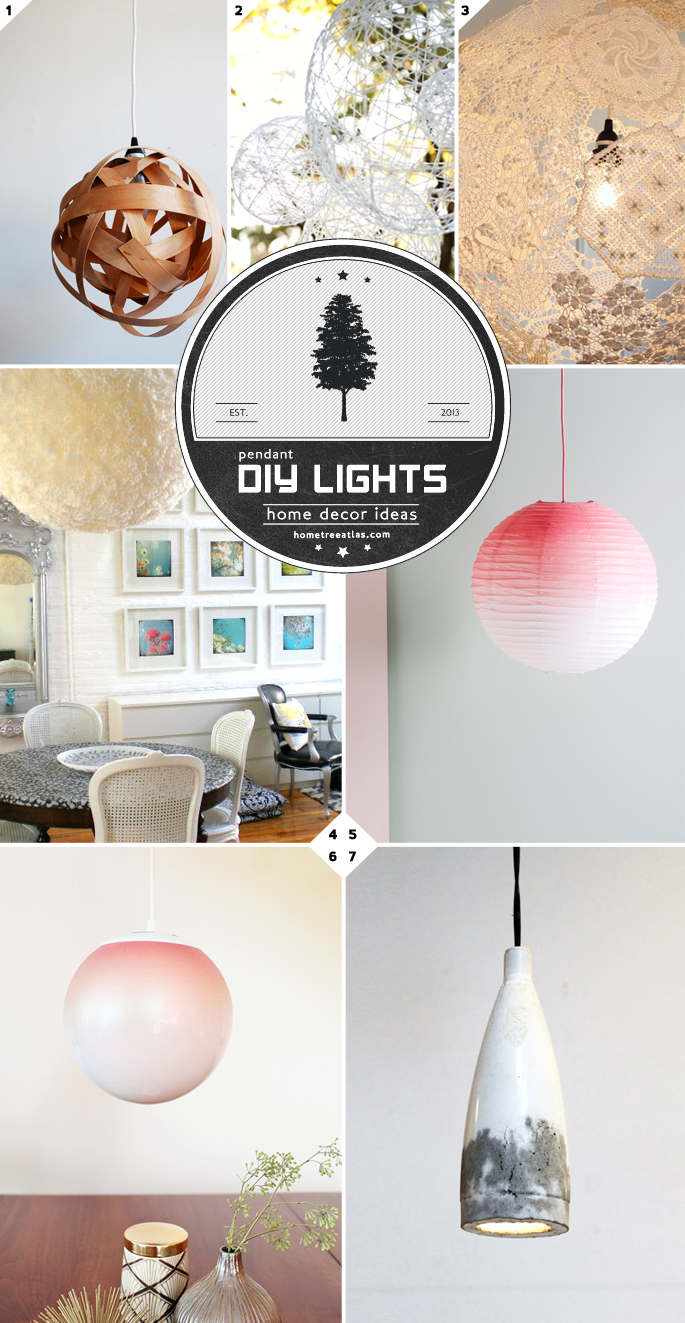 Diy pendant light ideas from paper lanterns to concrete lamps diy pendant light ideas aloadofball Image collections
