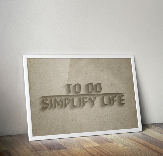 To Do Simplify Life