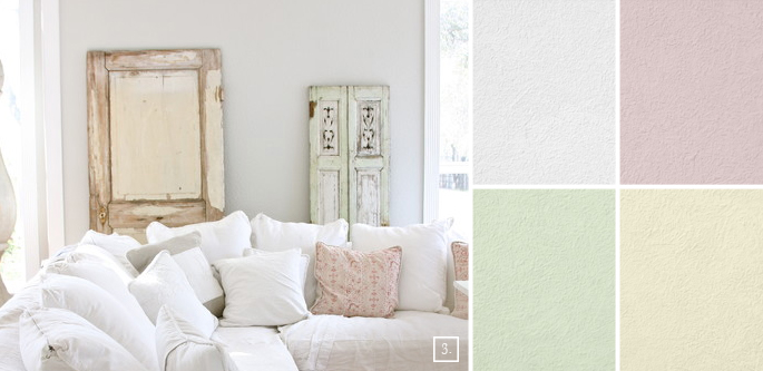 Shabby Chic Wall Colors