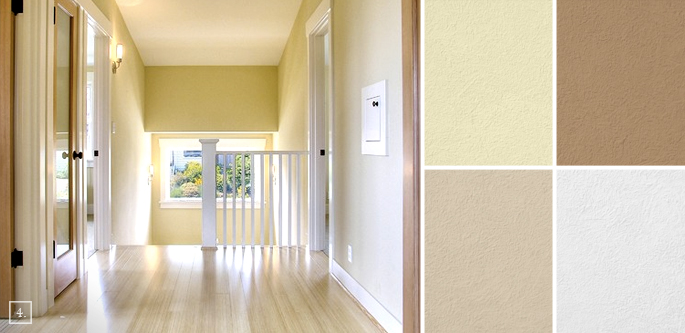 Inbetween rooms hallway paint colors home tree atlas for Best colour for hall