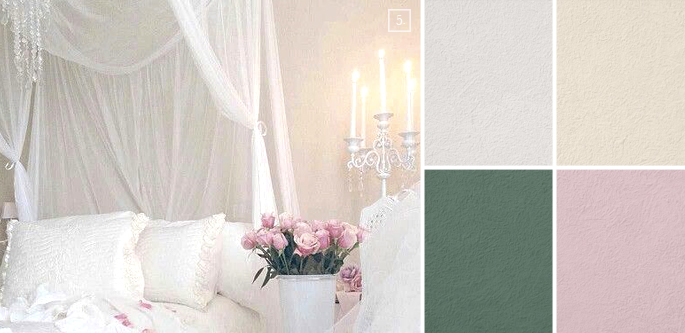 Room Styling Shabby Chic Paint Colors