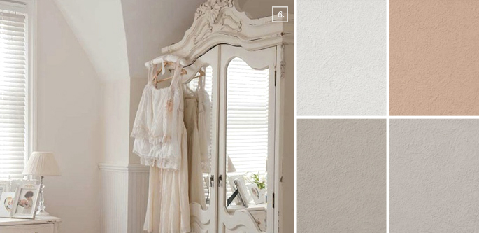 Shabby Chic Wall Color Ideas