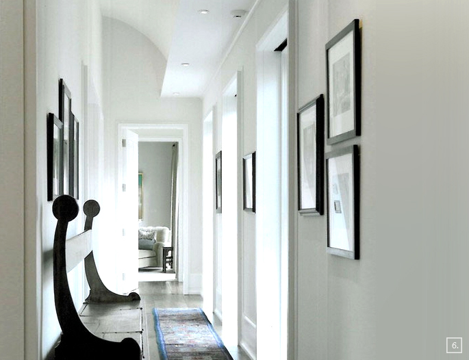 Hallway Color Ideas Beauteous Inbetween Rooms Hallway Paint Colors  Home Tree Atlas Decorating Design