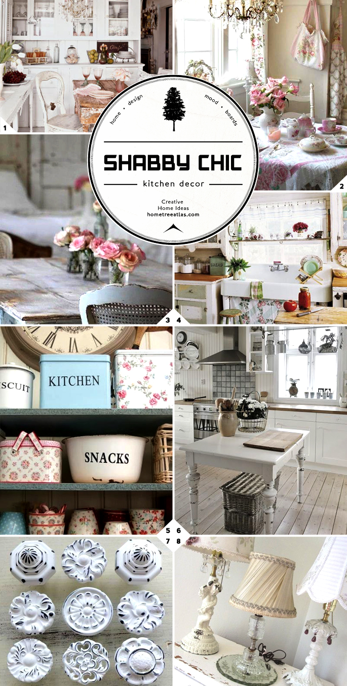 Shabby Chic Kitchen Design Shabby Chic Kitchen Decor Ideas Home Tree Atlas