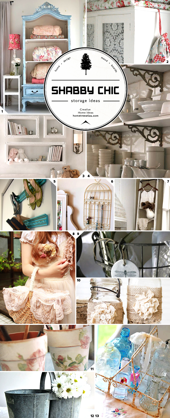 Shabby Chic Storage Ideas