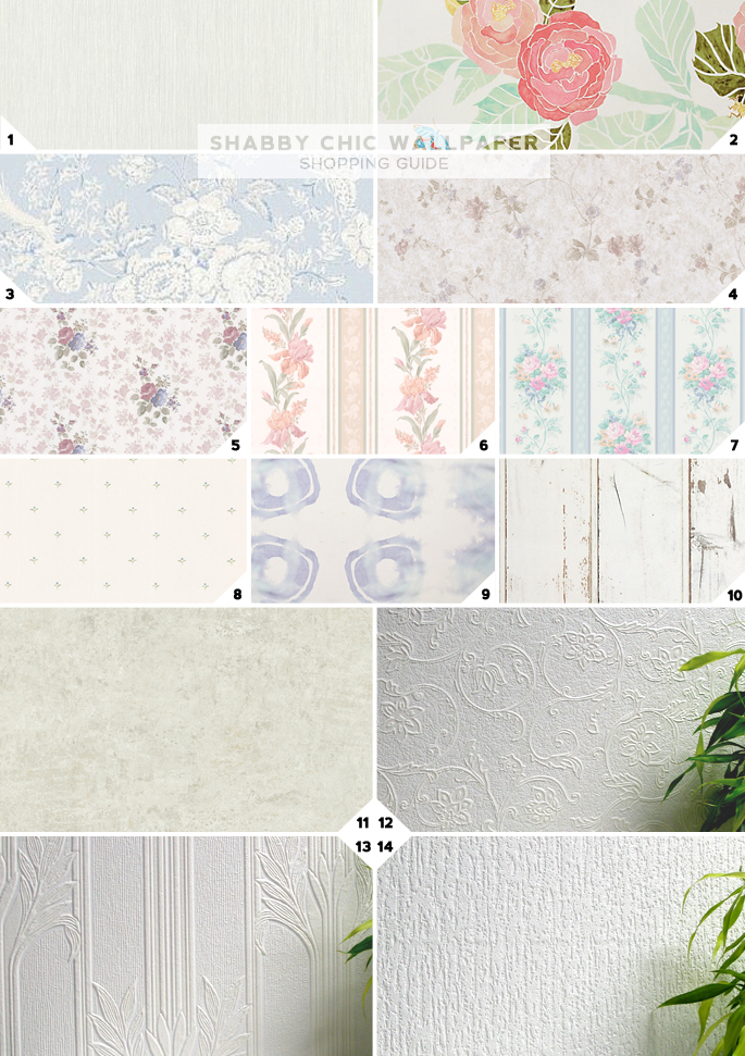 Shabby Chic Wallpaper Shopping Guide