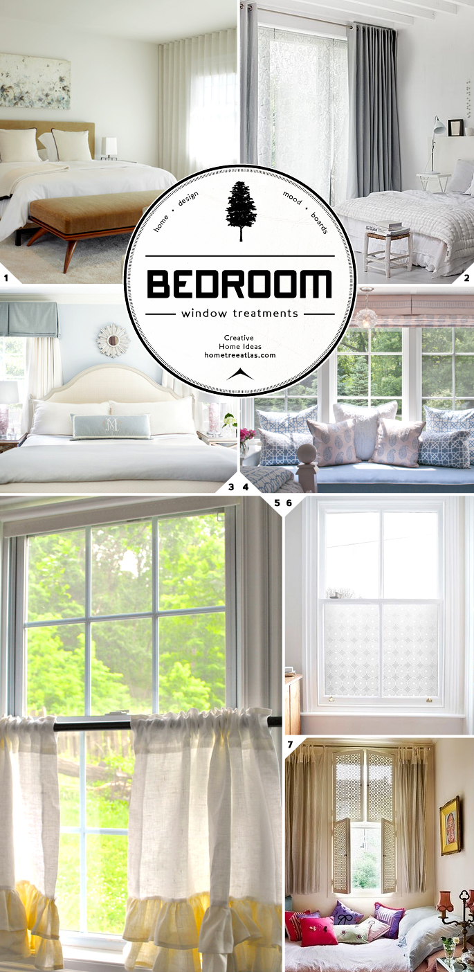 Bedroom window treatments and curtain ideas home tree atlas - Bedroom window treatments ideas ...
