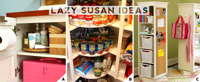 Lazy Susan Ideas