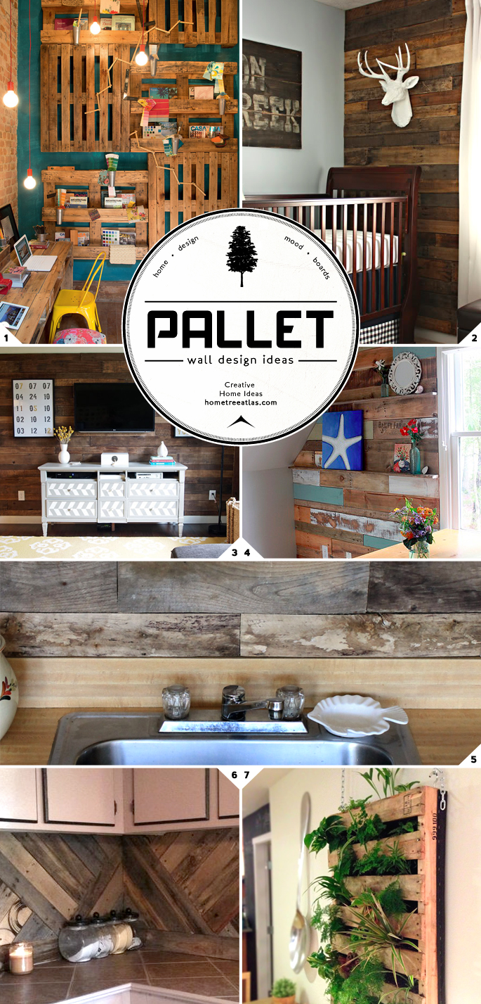 Pallet Wall Designs || Home Tree Atlas