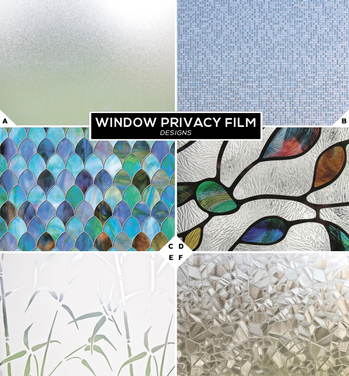 Window Privacy Film Designs