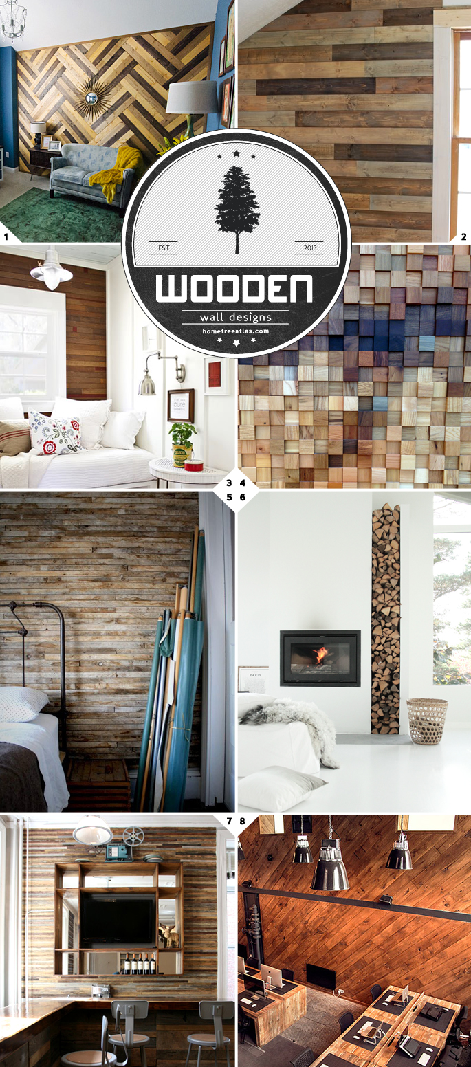 Wooden Wall Designs