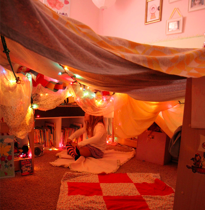 Kids Sheet Fort