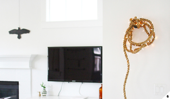 DIY Rope String Lights
