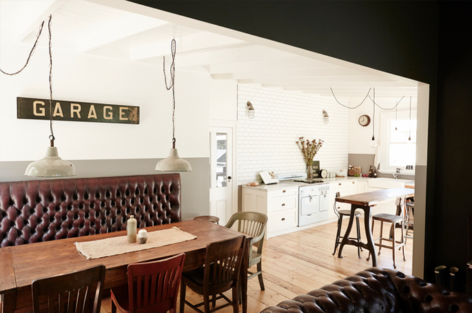 Vintage House Open Space