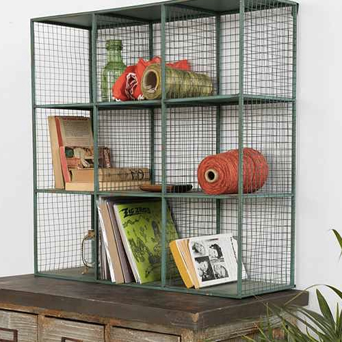 Vintage Wire Shelf Cubbies