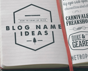 Blog Name Ideas